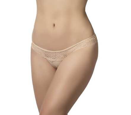 Menstruatieondergoed Brazilian String - huidskleur