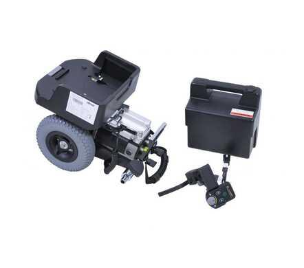 Hulpmotor voor rolwagen