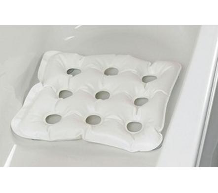 Opblaasbaar bad-zitkussen met zuignappen