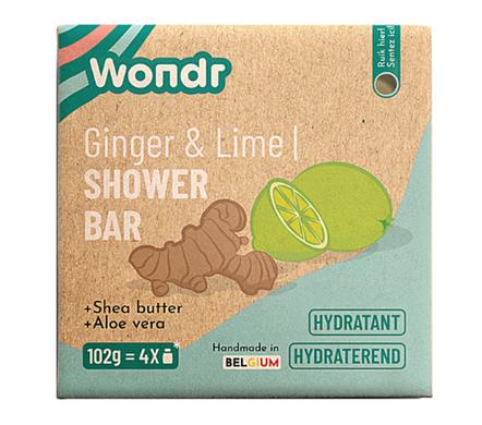 Shower bar - Energizing Lime & Ginger