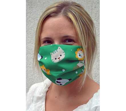 Mondmasker - dieren design