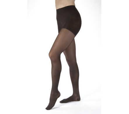Ultrasheer Panty (AT) met gesloten teen - klasse I - zwart