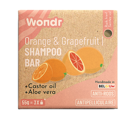 Shampoo bar - Orange is the new bar
