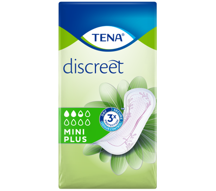 Tena discreet mini plus