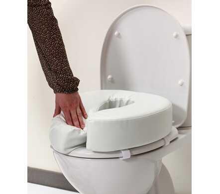 Toiletkussen / verhoger voor gewoon toilet of toiletstoel