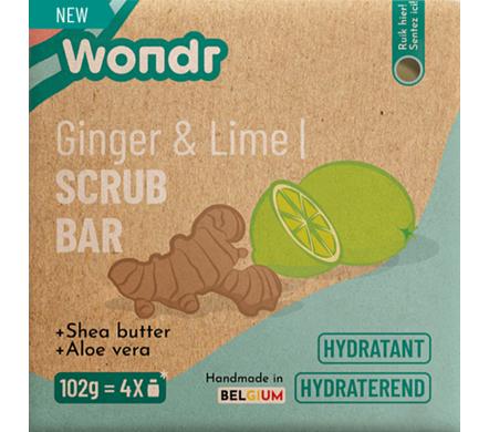 Scrub bar - Ginger & Lime