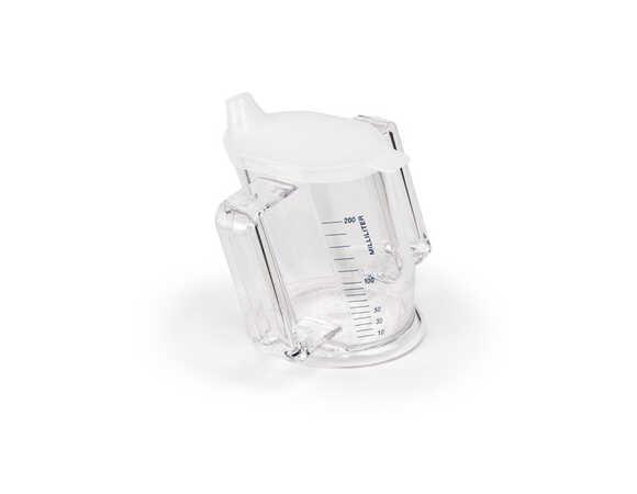 Handycup beker met twee handvatten