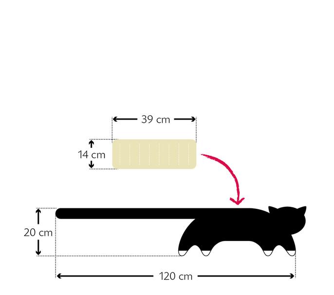 Warmtekussen Coco de kat