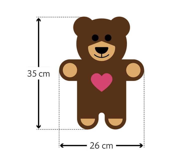 Warmtekussen Teddy de beer
