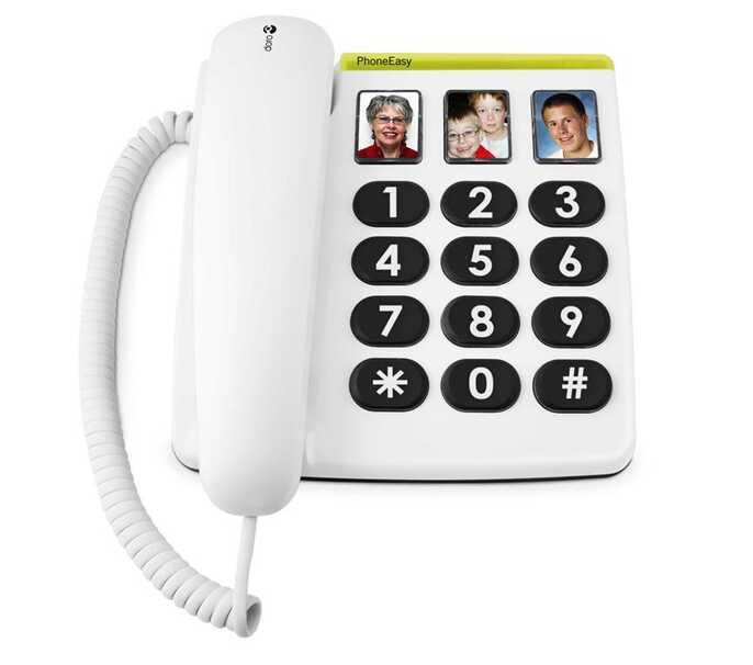 Vast telefoontoestel Easy 331