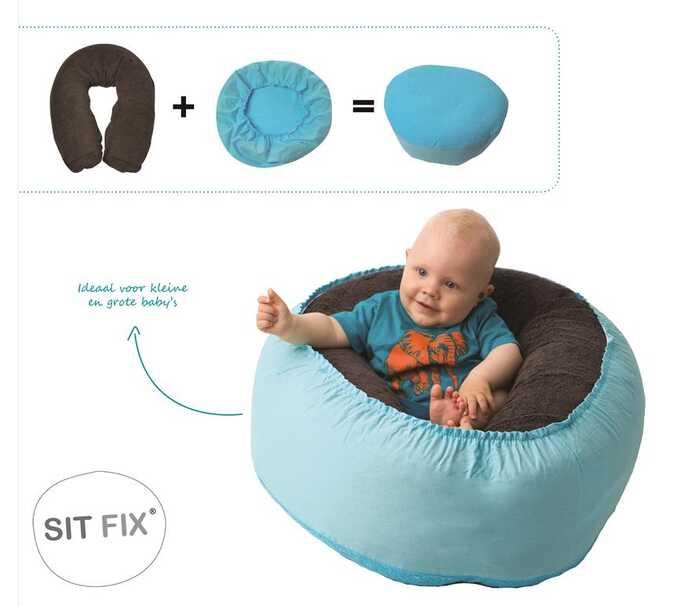 Sitfix hoes voor borstvoedingskussen