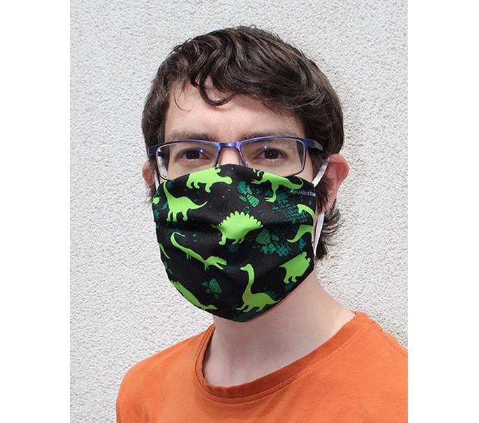 Mondmasker - Dino design