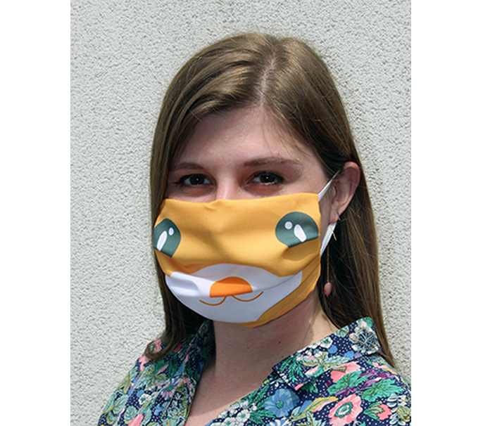Mondmasker - face design