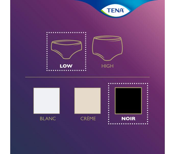 TENA Silhouette Normal Noir